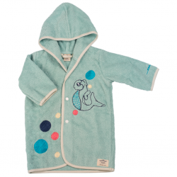 dressing gown, 0-5 years, blue