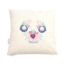 pillow case, natur, folklore/floral